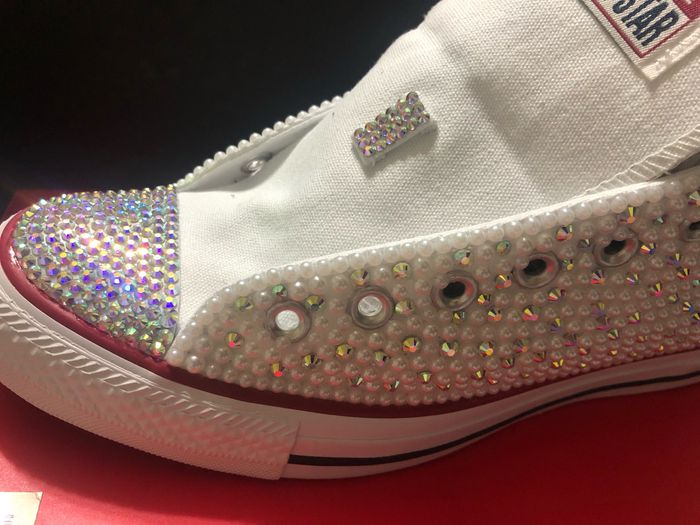 Bling converse sneakers 1