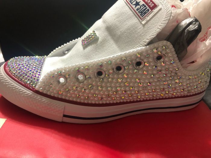 Bling converse sneakers 2