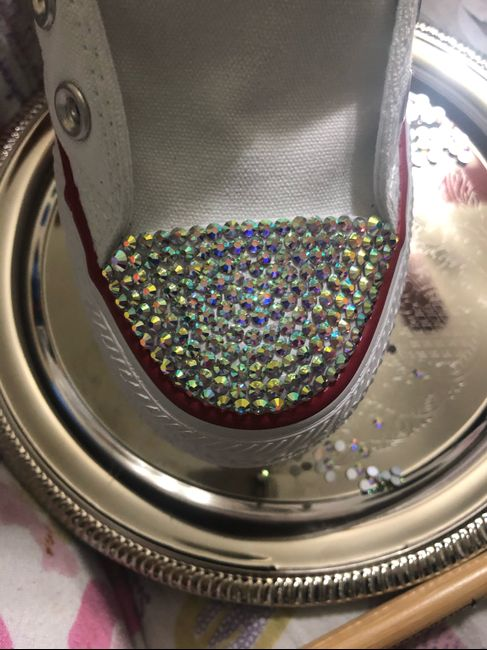 Bling converse sneakers 4