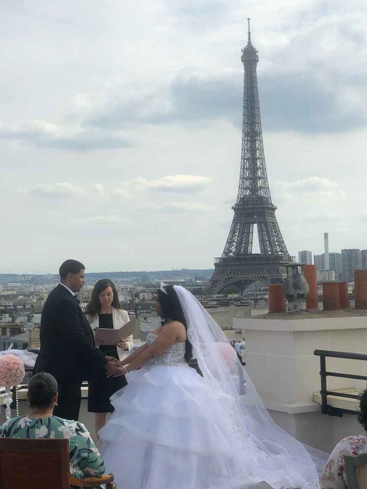 Paris Wedding non-pro bam - 1