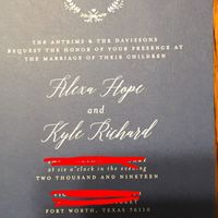 Invitation Help - 1