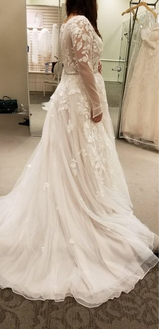 Thoughts and Opinions on David's Bridal vs Boutiques 3