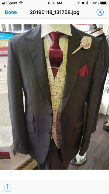 Future Husband got his suit! Just got the etsy tie in the mail :) 4