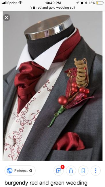 Future Husband got his suit! Just got the etsy tie in the mail :) 5
