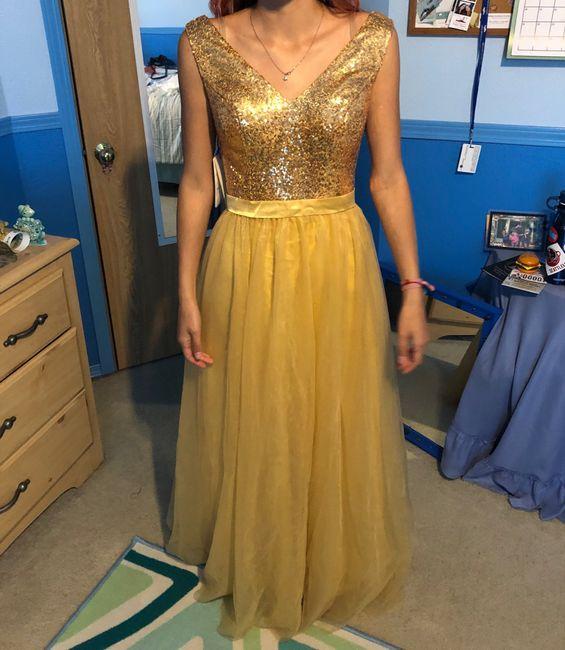 Bridesmaids dresses 1
