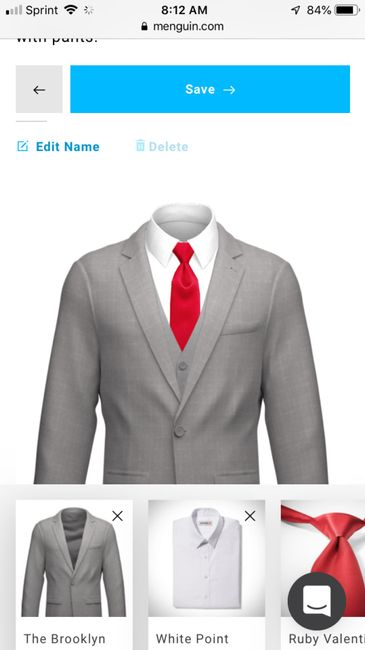 Groomsmen Suits - What Color? 11