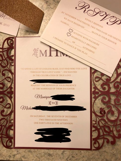 Parents names on the invitations 2
