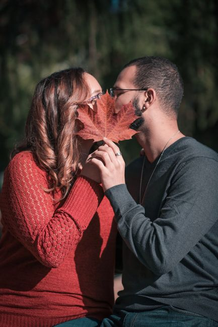 Fall Engagement Pictures Ideas 6