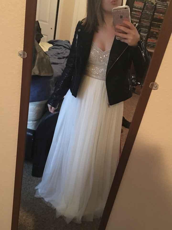 Dress regret?! Kinda? Help - 2