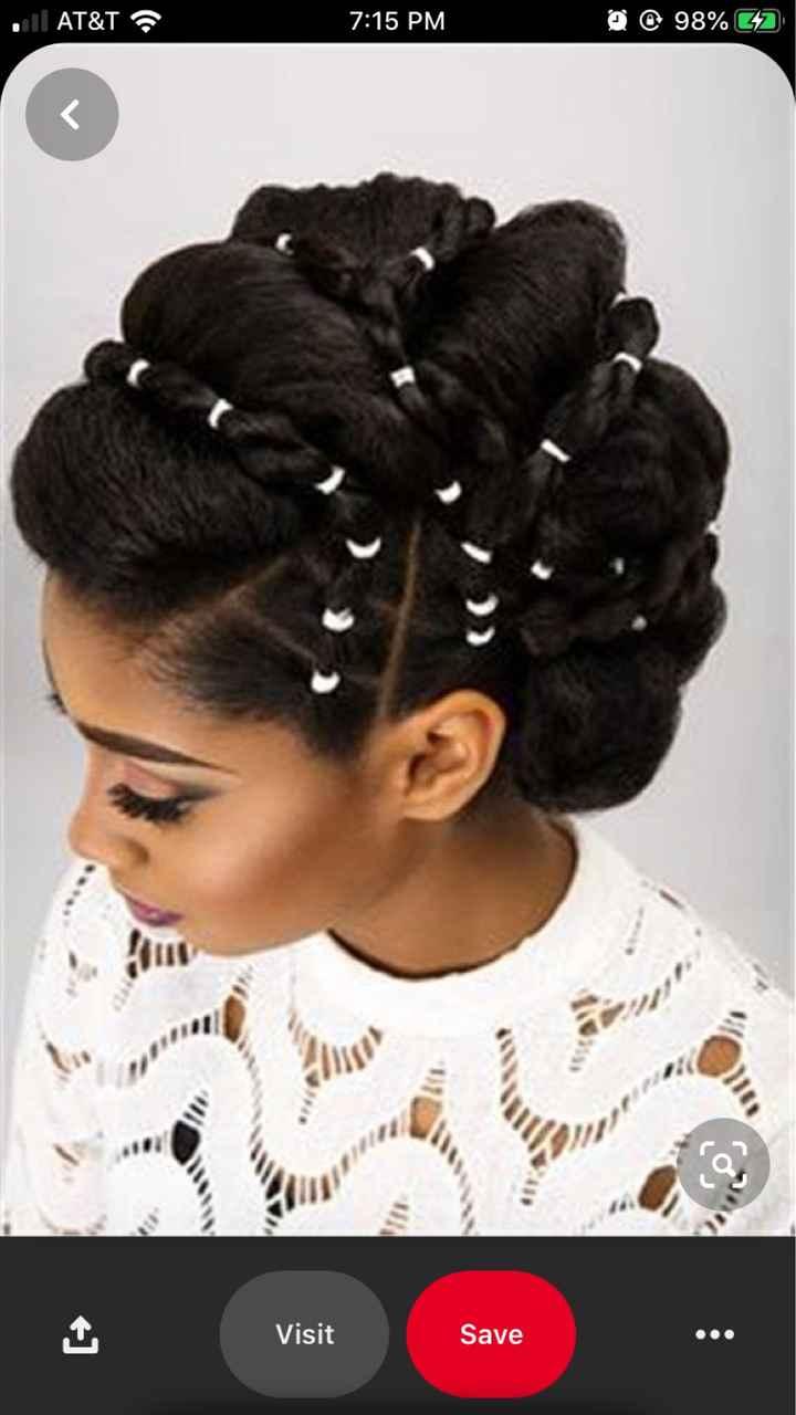 Natural Hair Wedding Styles - 4c Hair - 5