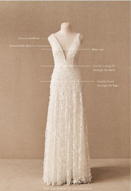 Dyeing Bottom of Wedding Dress 2