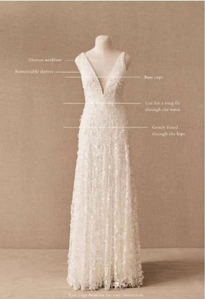 Dyeing Bottom of Wedding Dress - 2