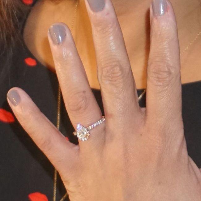 Pear/tear drop shaped rings 6