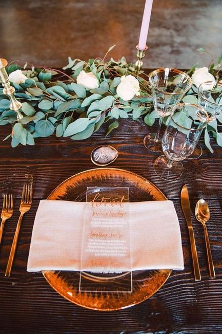 Greenery Garland for Farm Tables