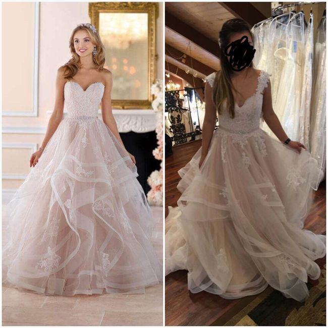 Did You Add Any Sleeves Straps To Your Dress Weddings Wedding