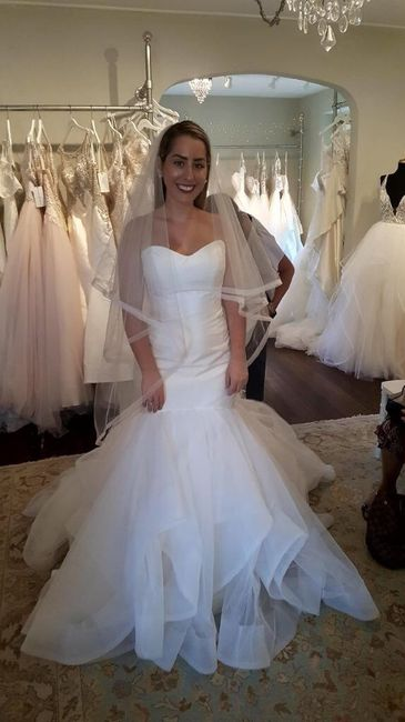 Me vs Model (short bride syndrome) 8