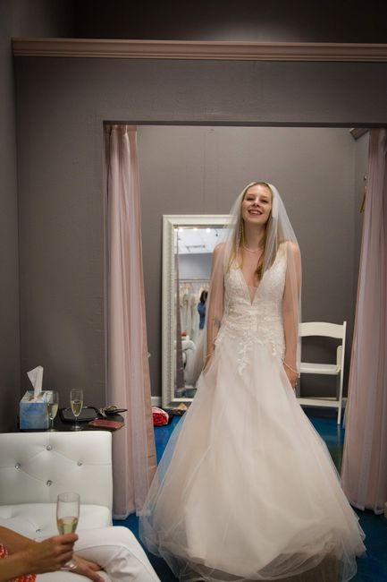Rebecca Ingram blush dress brides 1