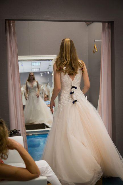 Rebecca Ingram blush dress brides 2