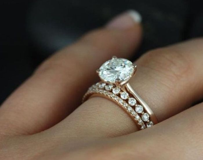 Two wedding rings? | Weddings, Etiquette and Advice | Wedding Forums ...
