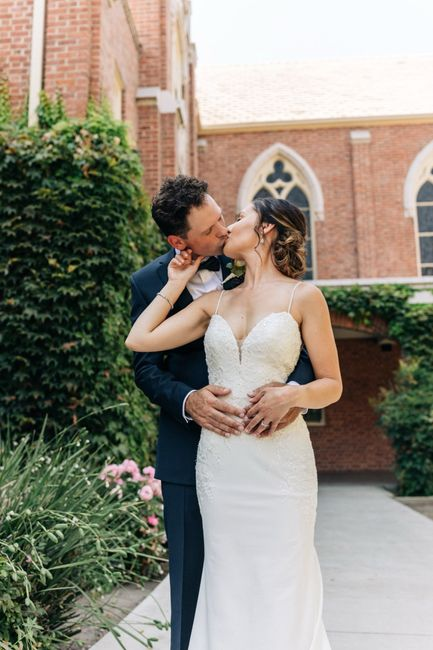 We're married! 3