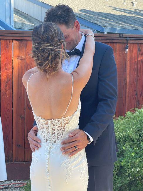 We're married! 5