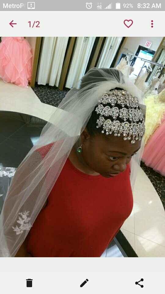 Is anyone wearing a tiara?