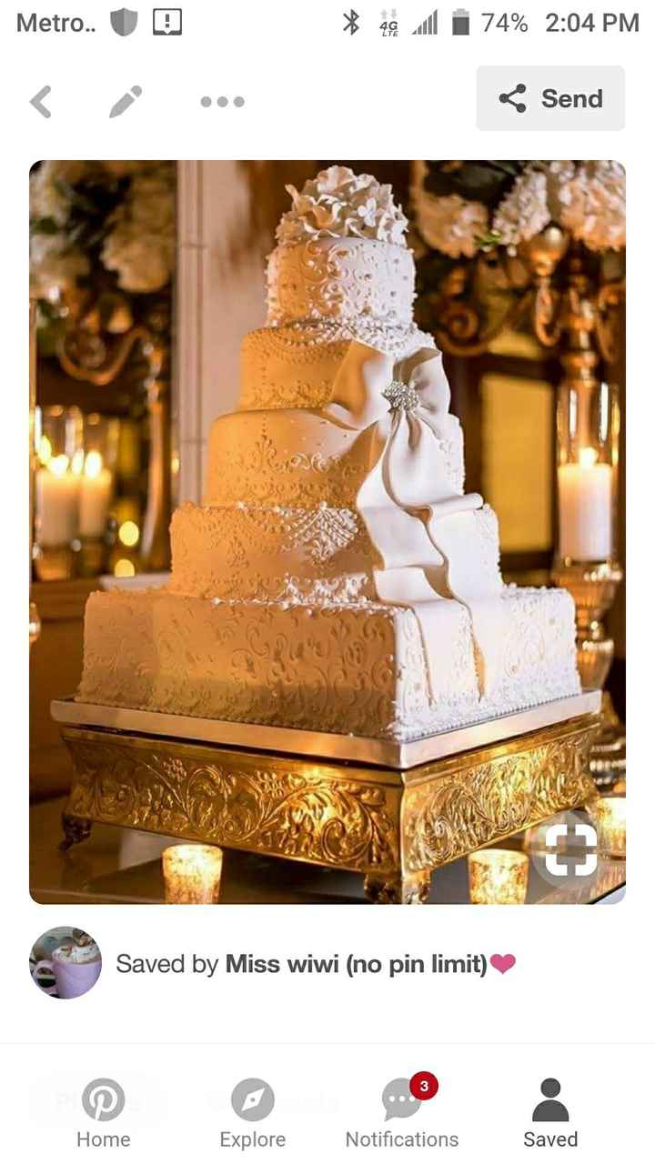 Lets see your wedding cakes!! - 1