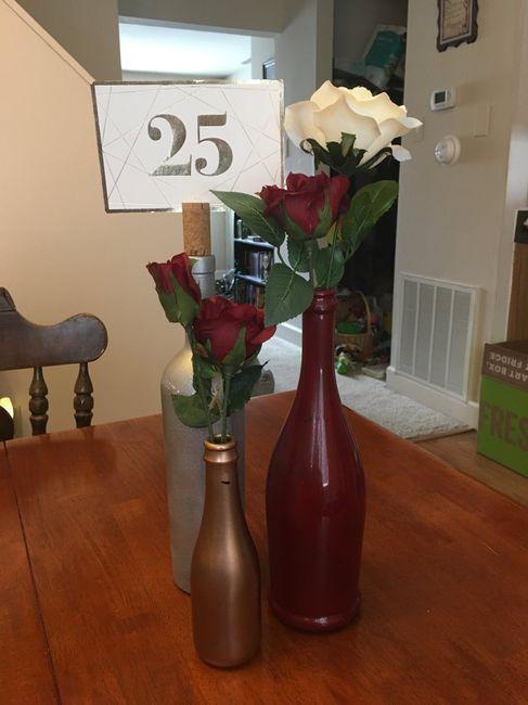 Burgundy & Blush Pink Decor 2