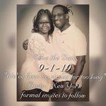Cynthia's and Robert  Wedding Day