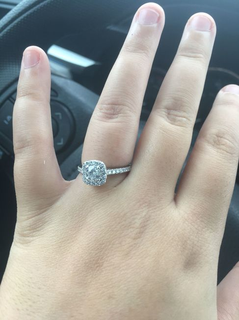 e4b9277ab01 New engagement ring- show me your rings!