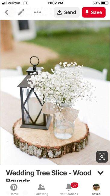 Barn Wedding Centrepieces - 1
