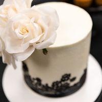 Our actual cake
