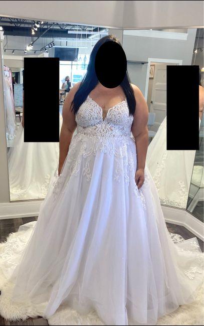 postponed brides - dress Anxiety?! 1