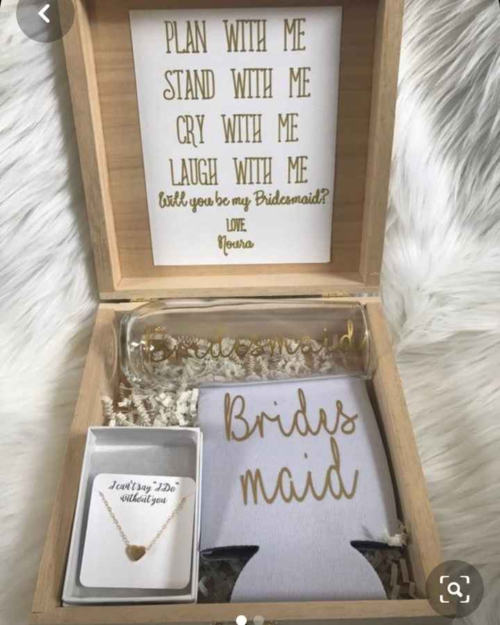 How Did You ask your bridesmaids? - 1