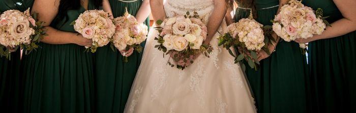 Dark Green Bridesmaid Dresses 1