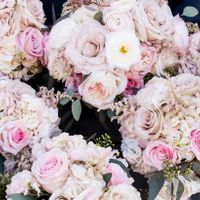 rose & hydrangea bouquets