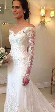 Grooms Opinion on the Dress??? 1