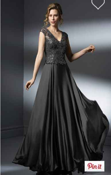 Halloween wedding and a black dress! Buying online? - 3