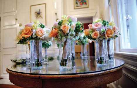 Where to put bouquets - 3