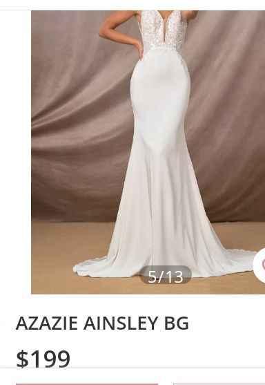 sos Wedding Dress Help - 2