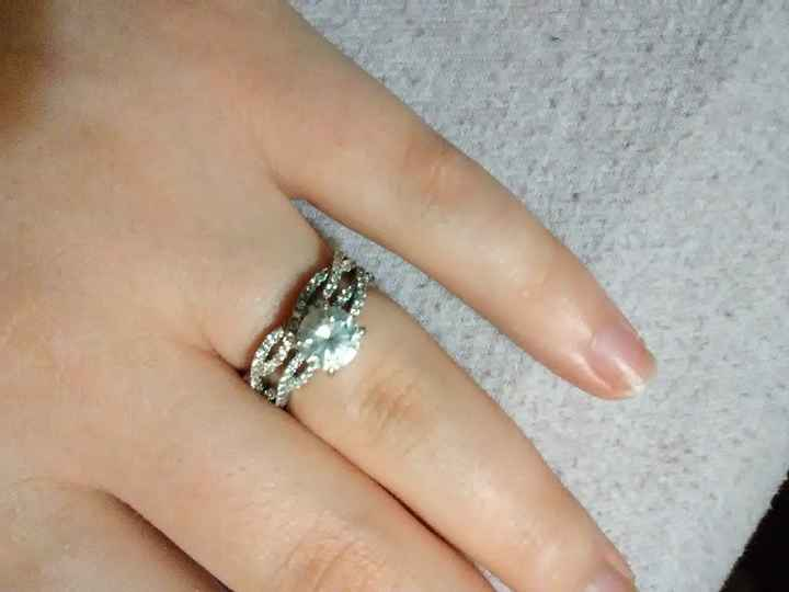 i got my wedding band! Show me your beautiful rings! - 1