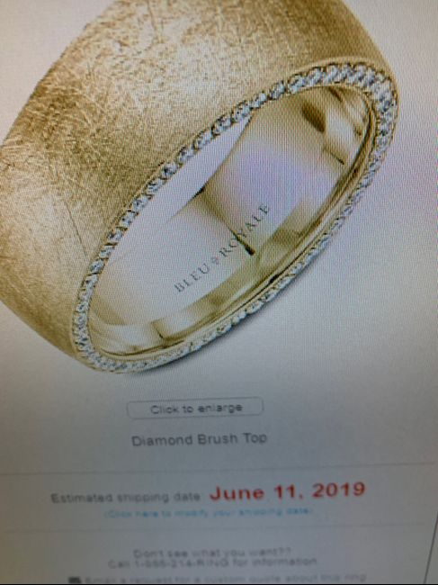 Wedding band for future hubby 1