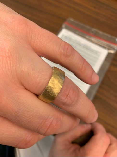 Wedding band for future hubby 2