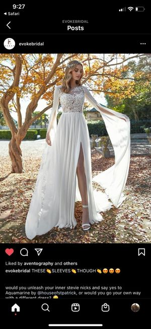 Thoughts on this dress! 1