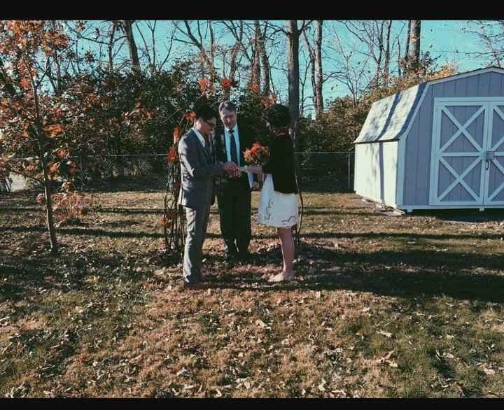 October 2021 wedding? 1