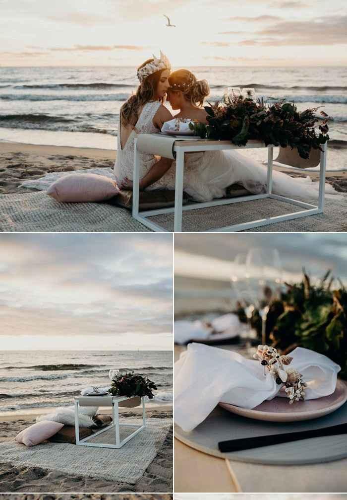 diy Styled Beachside Picnic Elopement Help - 1