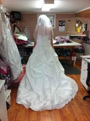 Dress fitting #2 - PICS