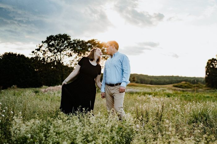 Sent out Save the Dates! and we have our engagement photos back too! 2