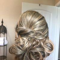 Trial run hair for bridal shower - 1