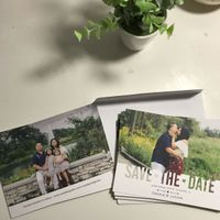 Wedding website on Save the date? - 1